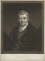 Joseph Ward, by William Say, published by  Joseph Ward, after  James Saxon - NPG D37484