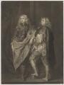 Lord John Stuart; Lord Bernard Stuart, by James Macardell, after  Sir Anthony van Dyck - NPG D37326