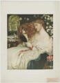 Fanny Cornforth (née Sarah Cox) ('Lady Lilith'), published by The Medici Society Ltd, after  Dante Gabriel Rossetti - NPG D37339