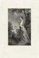 Lady Jane Warren (née Revell), by Frederick Bromley, after  Sir Joshua Reynolds - NPG D37855