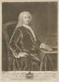 William Lingen, by John Brooks, published by  Thomas Jefferys, published by  William Herbert, after  Anthony Lee - NPG D37347