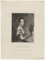Sarah Elizabeth Greville (née Savile), Countess of Warwick, by John Cochran, published by  Edward Bull, after  Sir George Hayter - NPG D37872