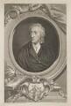 John Locke, by George Vertue, after  Sir Godfrey Kneller, Bt - NPG D37398