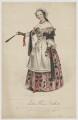 Sophia Louisa Fosbroke, by John William Gear, printed by  M & N Hanhart, published by  Richard Daniel - NPG D37761