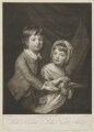 William Kerr, 6th Marquess of Lothian when Lord Newbattle; Lady Elizabeth Dormer (née Kerr), by Valentine Green, published by  Ryland and Bryer, after  Katharine Read - NPG D37444