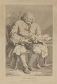 Simon Fraser, 11th Baron Lovat, by Thomas Cook, published by  George, George and John Robinson, after  William Hogarth - NPG D37452
