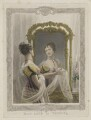 Emma Sarah Love (Mrs Calcraft) as Vespina in Bishop and Payne's 'Clari', by and published by Thomas Woolnoth, printed by  McQueen (Macqueen), after  Thomas Charles Wageman - NPG D37453