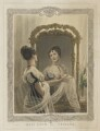 Emma Sarah Love (Mrs Calcraft) as Vespina in Bishop and Payne's 'Clari', by and published by Thomas Woolnoth, printed by  McQueen (Macqueen), after  Thomas Charles Wageman - NPG D37454