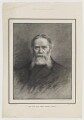 James Russell Lowell, by Moritz Klinkicht, supplement to the  Illustrated London News, after  Elliott & Fry - NPG D37462
