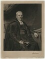 Reverend Burland, by Charles Turner, probably after  John Graham Gilbert - NPG D37470