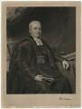 Reverend Burland, by Charles Turner, probably after  John Graham Gilbert - NPG D37470