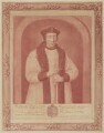 Richard Foxe, by John Faber Sr, after  Unknown artist - NPG D37788