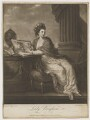 Margaret Bingham (née Smith), Countess of Lucan, by James Watson, printed and published by  James Bretherton, after  Angelica Kauffmann - NPG D37477