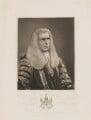 John Singleton Copley, Baron Lyndhurst, by Thomas Woolnoth, published by  Charles Sweet - NPG D38037