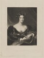 Sarah Garay Copley (née Brunsden), Lady Lyndhurst, by Samuel Cousins, published by  Hodgson & Graves, after  Sir Thomas Lawrence - NPG D38040