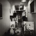 Paul Millichip and family, by Ida Kar - NPG x132983