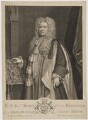 Thomas Parker, 1st Earl of Macclesfield, by George Vertue, after  Sir Godfrey Kneller, Bt - NPG D38069
