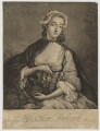 Flora Macdonald with miniature of Prince Charles Edward Stuart, after I. Markluin - NPG D38081