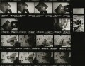 Contact sheet including Craig Edward Moncrieff Brown; Tony Rushton; Richard Reid Ingrams, by Eric Hands - NPG x133202