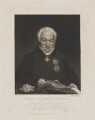 Sir Edmund Nagle, by William James Ward, published by  William Sams, after  William Corden - NPG D38448