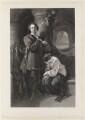 William Charles Macready as Werner, by Charles William Sharpe, after  Daniel Maclise - NPG D38124