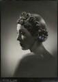 Iris (née Henry), Lady Cameron, by Peter Clark - NPG x133226