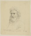 Sir William Francis Patrick Napier, by Sir George Scharf, after  George Frederic Watts, after  Unknown photographer - NPG D38706