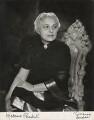 Vijaya Lakshmi Pandit (née Sarup Kumari Nehru), by Vivienne - NPG x133231