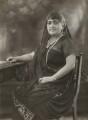 Dhunbai (née Wadia), Lady Jehangir, by Bassano Ltd - NPG x133271