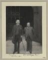 Robert James Albery; G. Walsh, by Sir (John) Benjamin Stone - NPG x133318