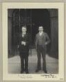 Sir Henry Alexander; Richard George Spencer Mann, by Sir (John) Benjamin Stone - NPG x133319