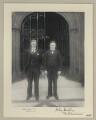 Edwin Alfred Jenkins; John Newman Herlihy, by Sir (John) Benjamin Stone - NPG x133316