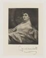 Consuelo Montagu (née Yznaga), Duchess of Manchester, by Frederick John Jenkins - NPG D38189