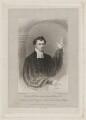 Edward Mannering, by Edward Scriven, after  William Hudson - NPG D38194