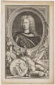 John Churchill, 1st Duke of Marlborough, by Jacobus Houbraken, published by  John & Paul Knapton, after  Sir Godfrey Kneller, Bt - NPG D38234