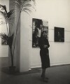 Ida Kar at her Whitechapel Art Gallery exhibition, by Mary Eagles - NPG x133327
