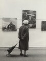 Visitor to Ida Kar's Whitechapel Art Gallery exhibition, by Anthony Panting - NPG x133329