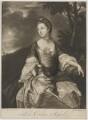 Lady Caroline Spencer (née Russell), Duchess of Marlborough, by James Macardell, after  Sir Joshua Reynolds - NPG D38249