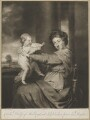 Viscountess Clifden and Duchess of Marlborough, by James Watson, published by  John Boydell, after  Sir Joshua Reynolds - NPG D38252