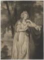 Lady Caroline Spencer (née Russell), Duchess of Marlborough, by John Jones, after  George Romney - NPG D38254