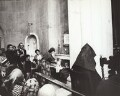 Ida Kar at St Sarkis Armenian Church, by Mark Gerson - NPG x133339