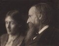 Virginia Woolf; Sir Leslie Stephen, by George Charles Beresford - NPG x4600