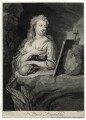 St Mary Magdalene, by and sold by John Faber Jr, after  Thomas Hudson - NPG D38265