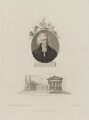 Thomas Martyn with 'View of King's College Chapel, the Public Library and Senate House', by Giovanni Vendramini, published by  Robert John Thornton, after  John Russell - NPG D38302