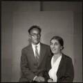 Ida Kar's parents (Melkon Karamian; Anahit Karamian), by Ida Kar - NPG x134047