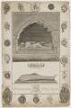 Sir Henry Mavesyn ('The Tomb & Leaden Coffin of Sir Henry Mauveysin'), by Richard Woollett Basire, after  T. Barritt - NPG D38331