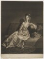 Anne ('Nancy') Maynard (née Parsons), Viscountess Maynard, by James Watson, after  George Willison - NPG D38340