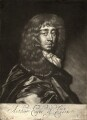 Arthur Capel, 1st Earl of Essex, by Edward Lutterell (Luttrell), published by  John Lloyd, after  Sir Peter Lely - NPG D10944