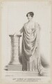 Margaret Agnes Bunn (née Somerville) as Hermione in 'A Winter's Tale', by Thomas Woolnoth, published by  Thomas Dolby, after  Thomas Charles Wageman - NPG D38558