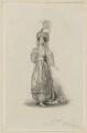 Mary Ann Paton (Mrs Wood) as Mandane, by Thomas Woolnoth, after  Thomas Charles Wageman - NPG D38561